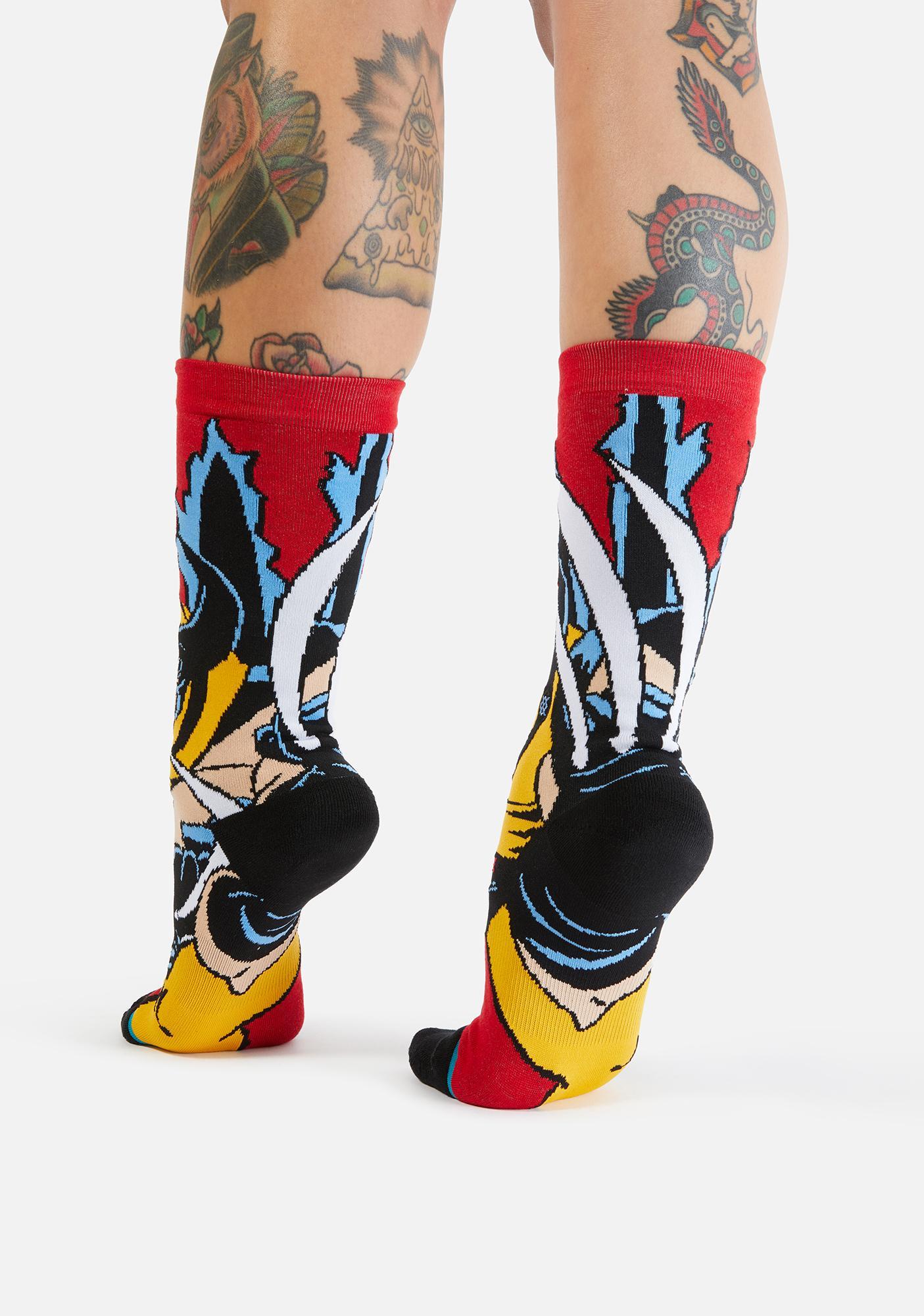 Stance X-Men Wolverine Crew Socks