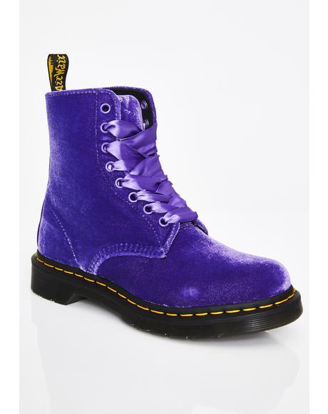 Magical 1460 Pascal Velvet Boots