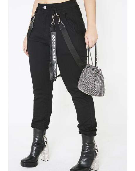 Xtra Spice Suspender Joggers