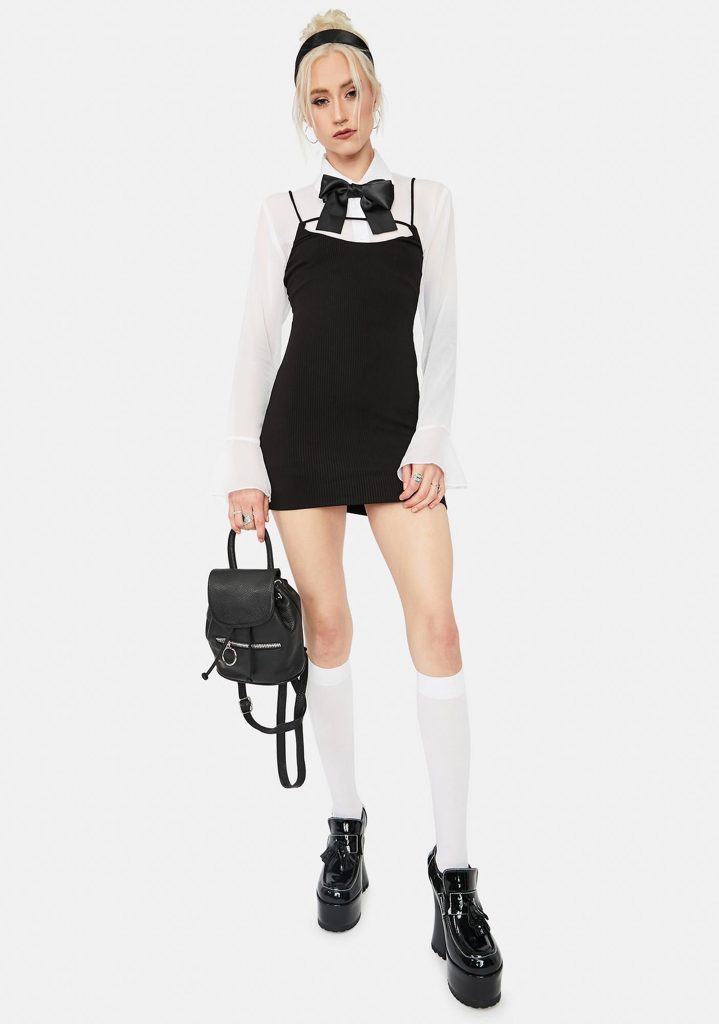 Let Me Know Tank Mini Dress