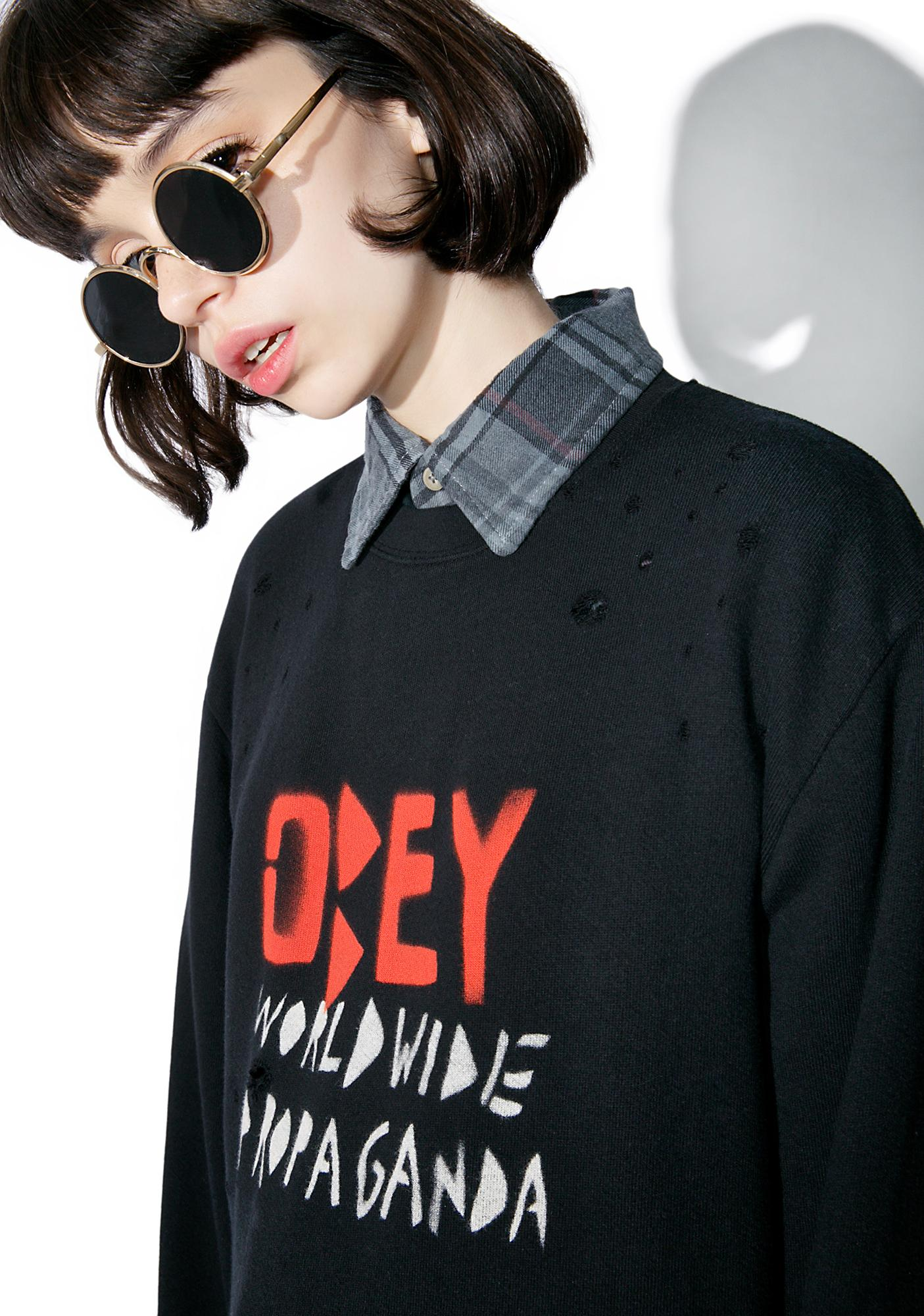 Obey Breakers Sweatshirt