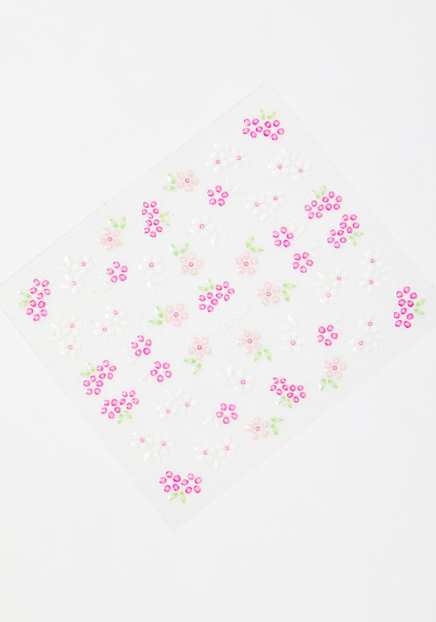 Full Bloom Face Stickers
