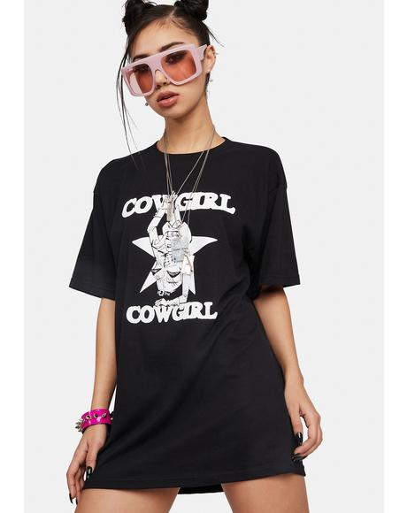 Cowgirl Graphic Tee