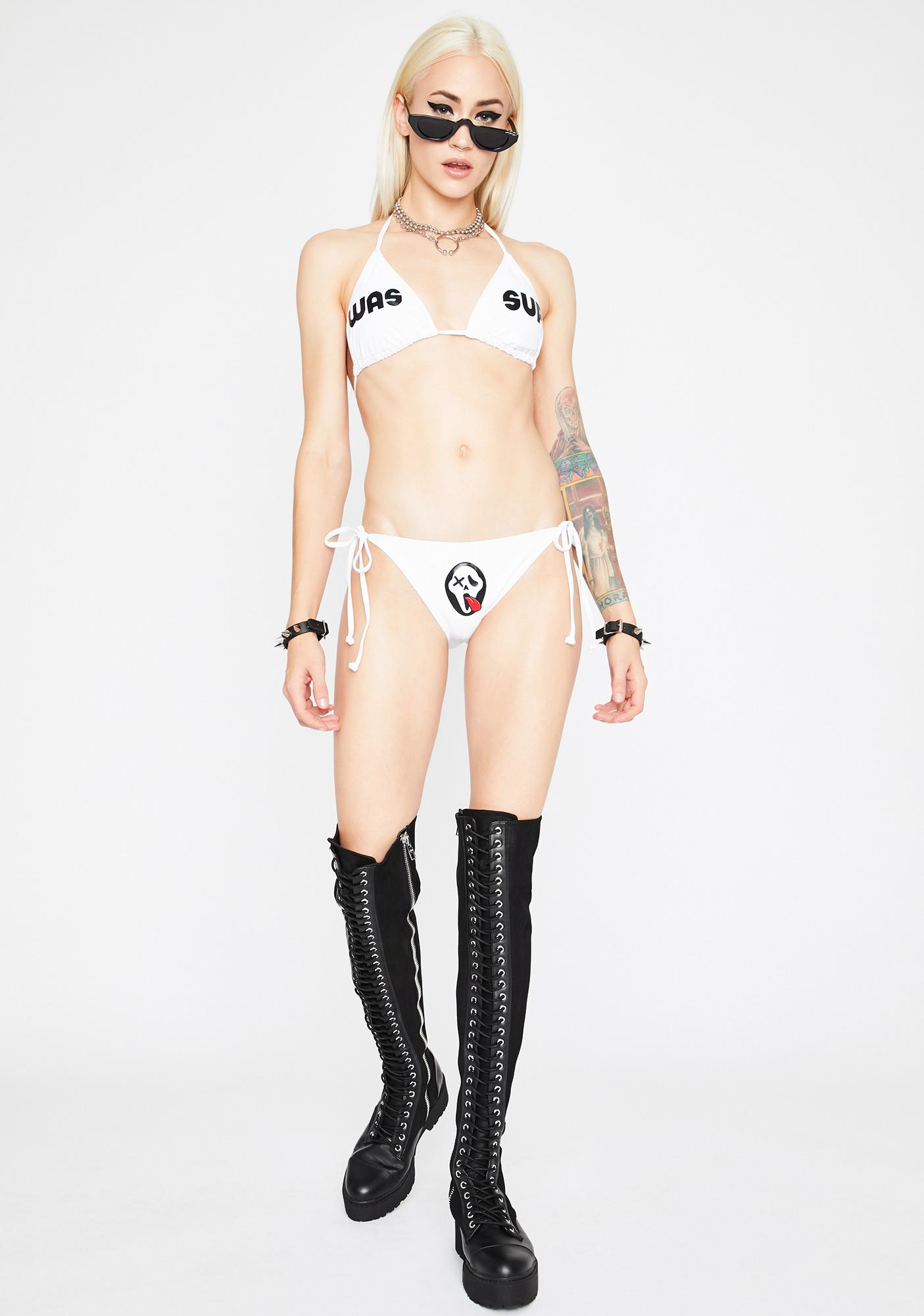 Psycho Rebel Wassup Bikini Set