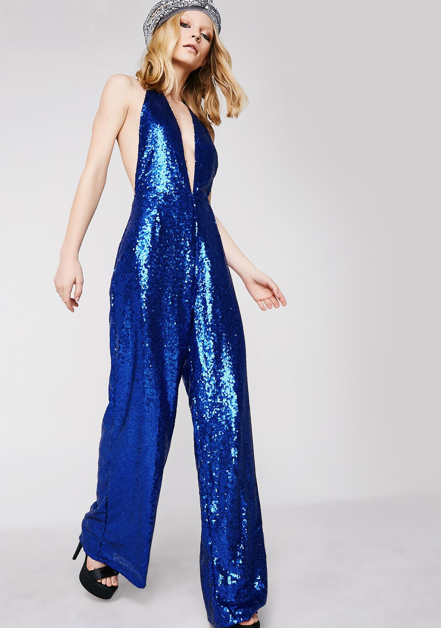 Motel Amber Wide Leg Jumpsuit