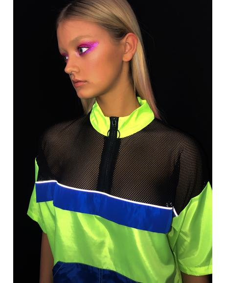Bodak Radioactive Remix Neon Dress
