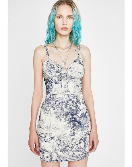 Wild Scene Mini Dress