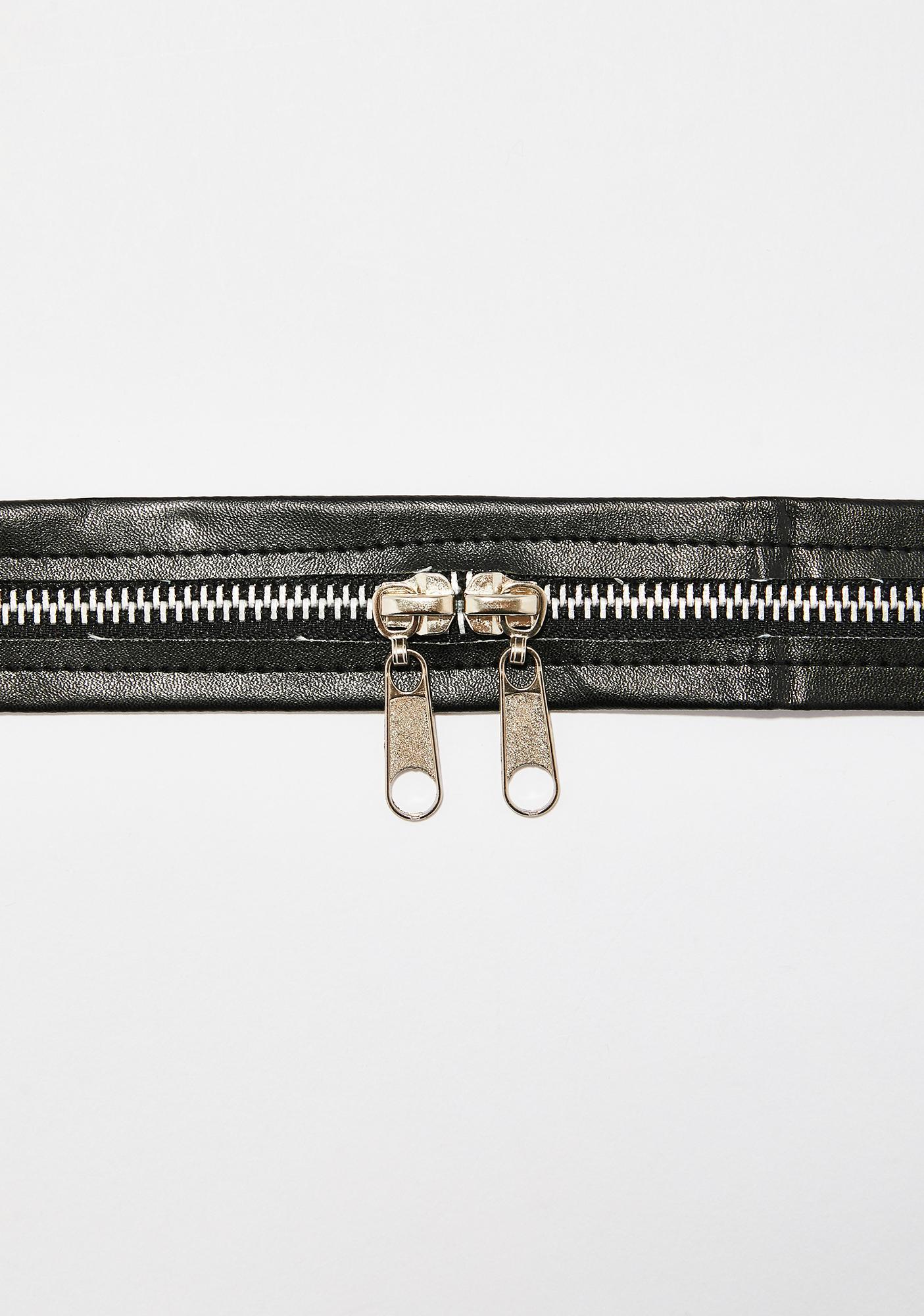 Case Closed Zipper Choker