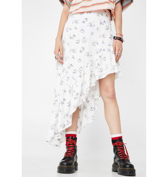Pretty Prairie Asymmetrical Skirt