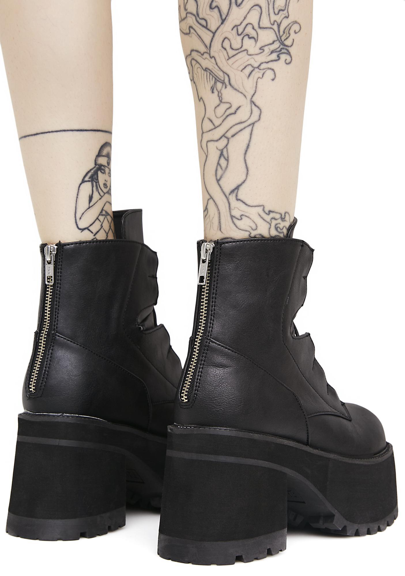 Demonia Earthshatter Platform Boots