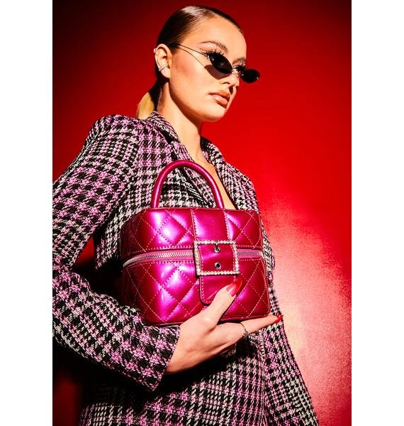 Poster Grl Dream Closet Quilted Patent Box Bag