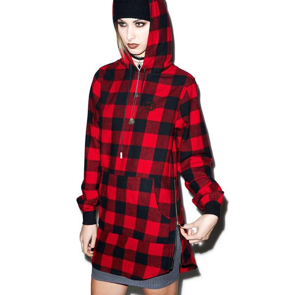 D9 Reserve Lumberjack Elongated Hoody