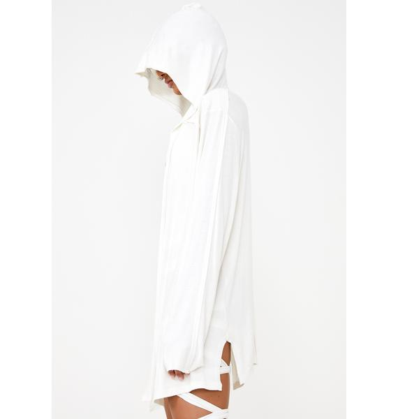 Club Exx Wide Awake Hooded Cardigan