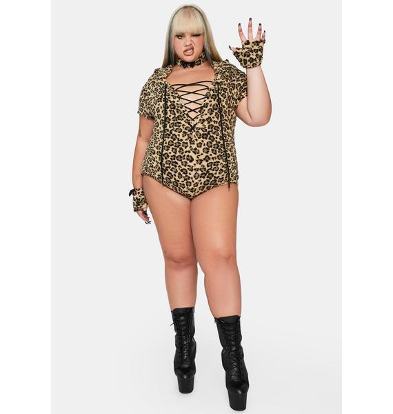 Dolls Kill Her Playful Pounce Costume Set