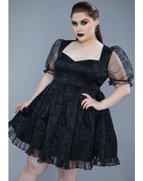 My Dark Bidding Babydoll Dress
