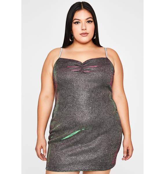 Her Cosmic Shine Mini Dress