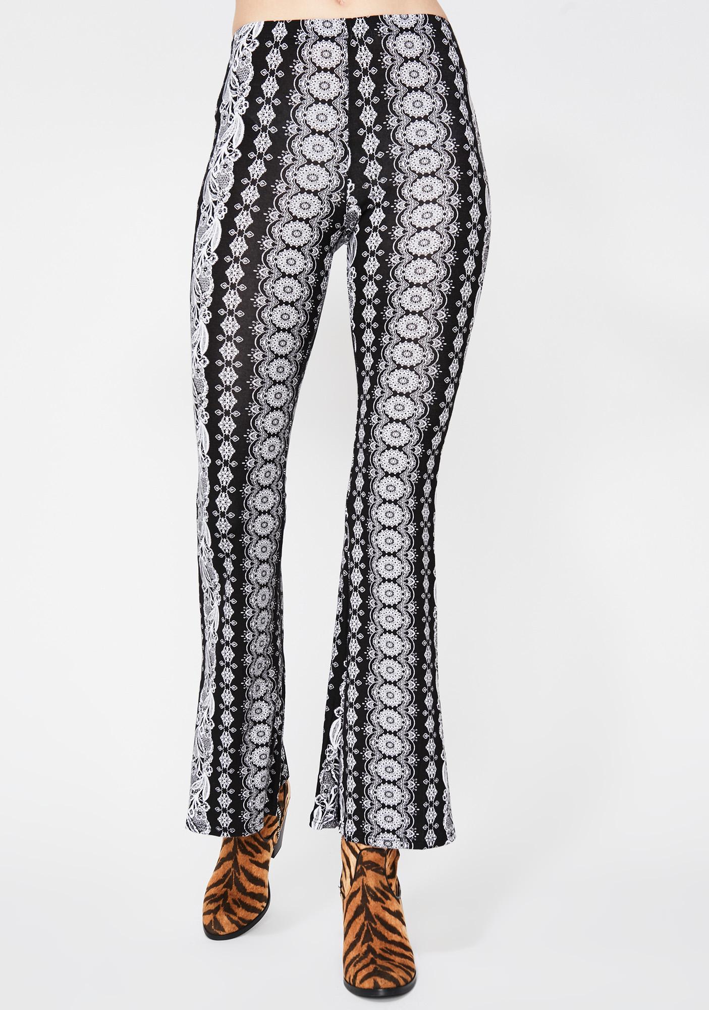 Noir Midnight Haze Printed Pants