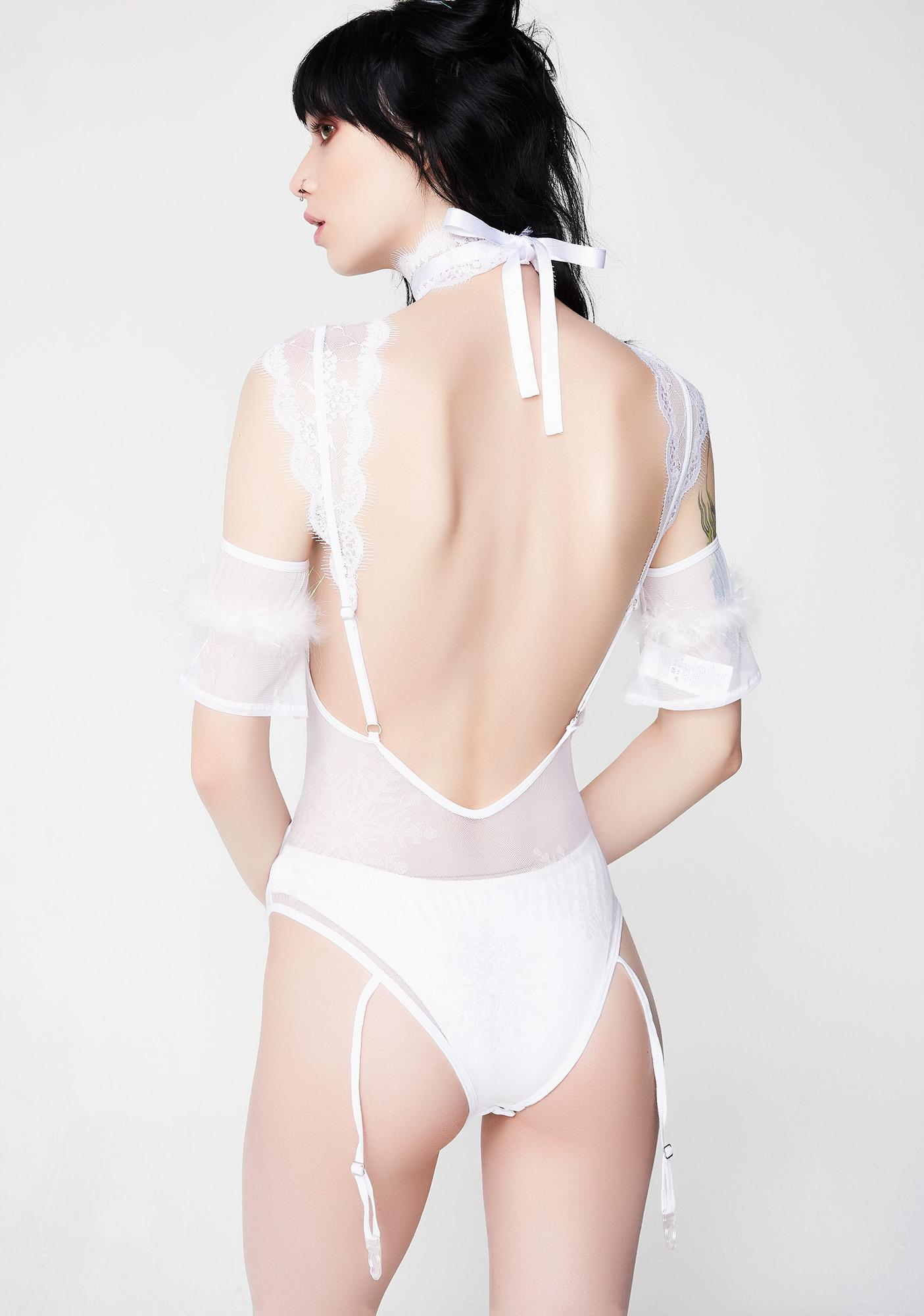 Snow Goddess Lingerie Set
