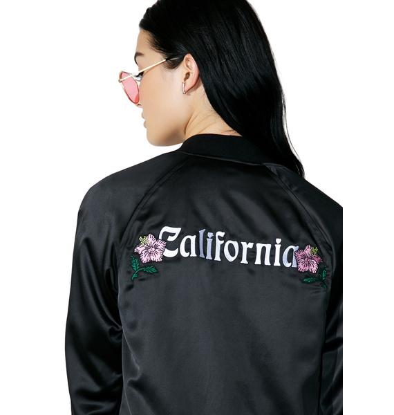 Stussy California Satin Jacket