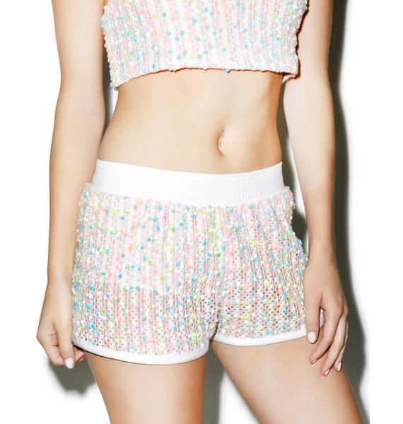 Hot!MeSS Kaleidoscope Runner Shorts