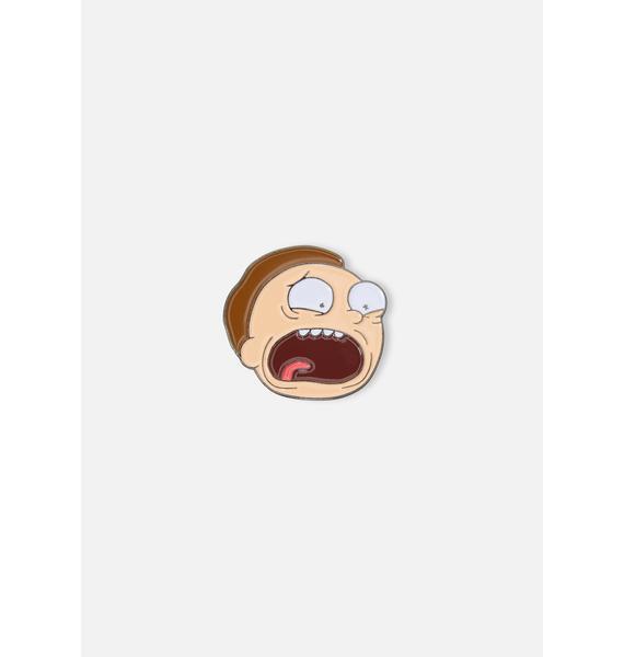 Morty Enamel Pin