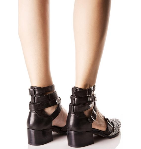 E8 by Miista Uma Chained Boots