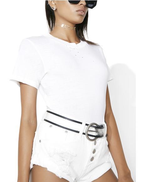 Factory Girl Transparent Belt