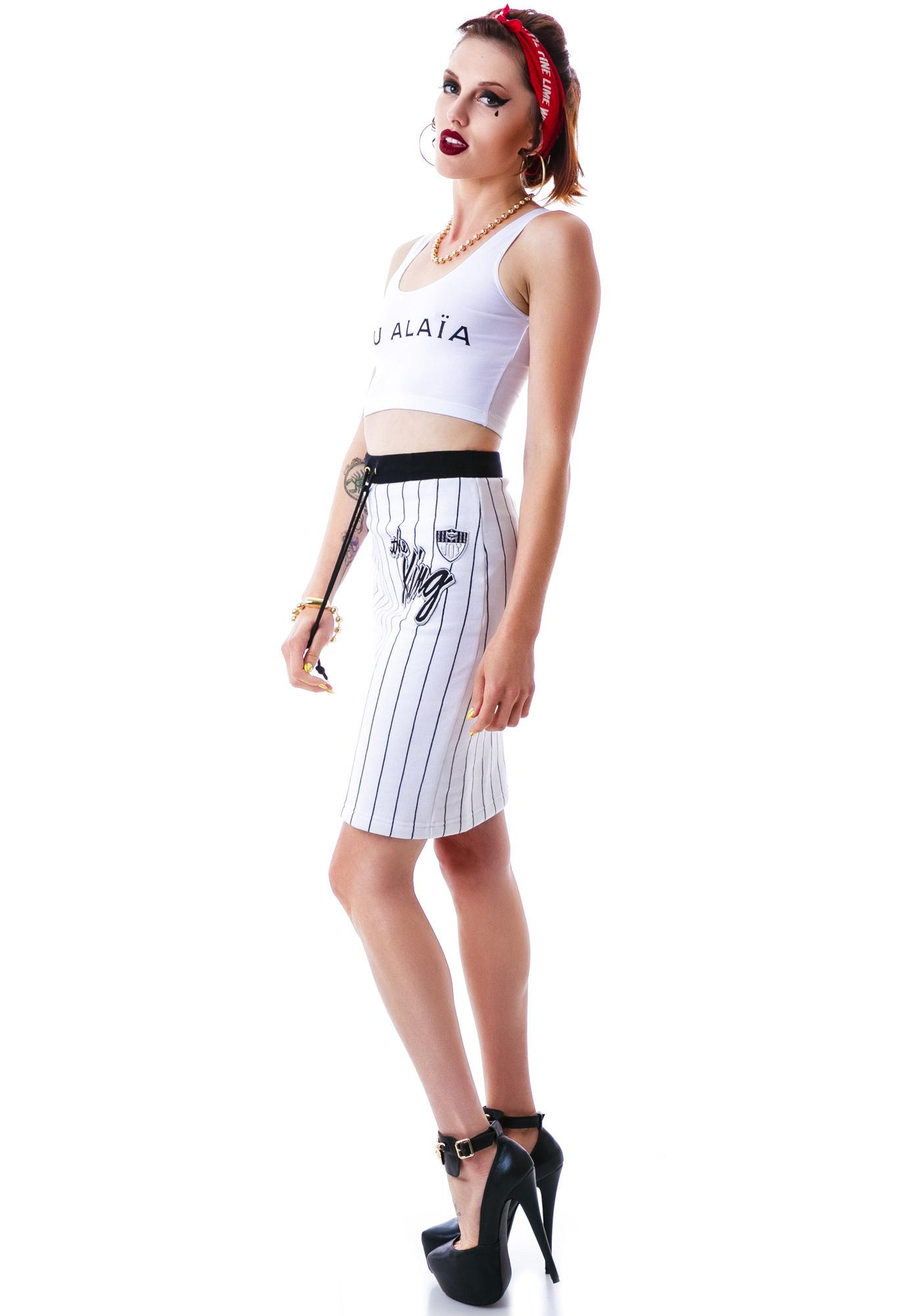 Married to the Mob You Alaia Fitted Cropped Tank