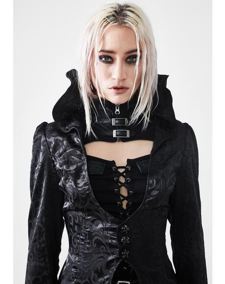 Gothic Witch's Wedding Long Coat