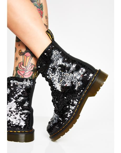 1460 Pascal Sequin Boots