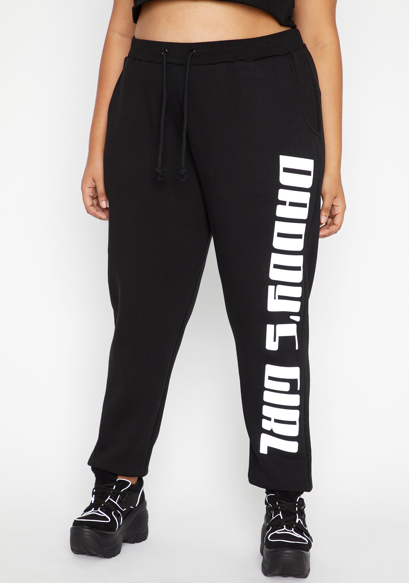 Poster Grl Foreva Daddy's Grl Reflective Joggers