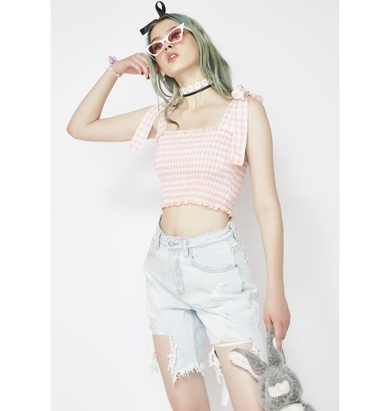 Sweet Story Date Crop Top