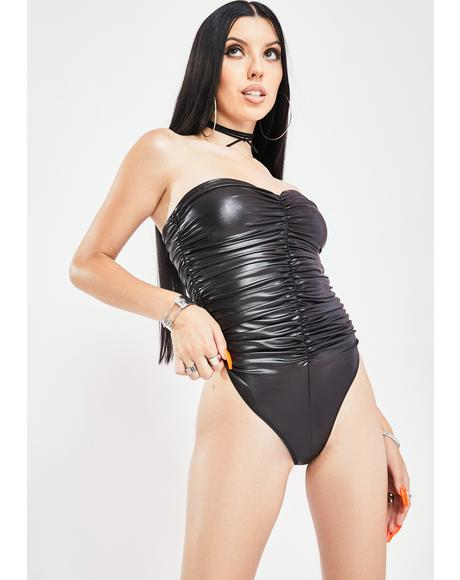 Bold Truth Vinyl Bodysuit