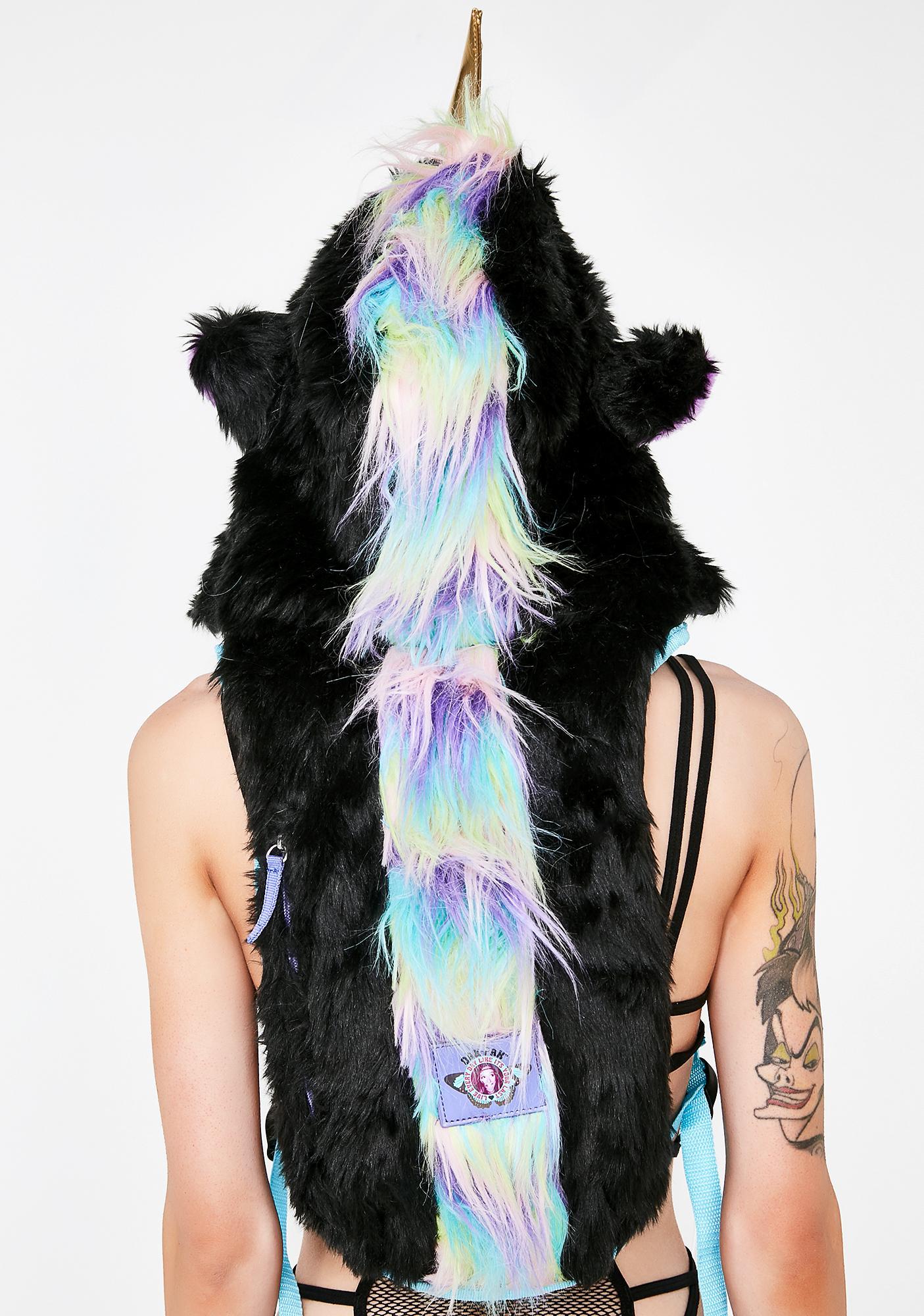Dan-Pak Dark Mystical Unicorn Hydration Backpack