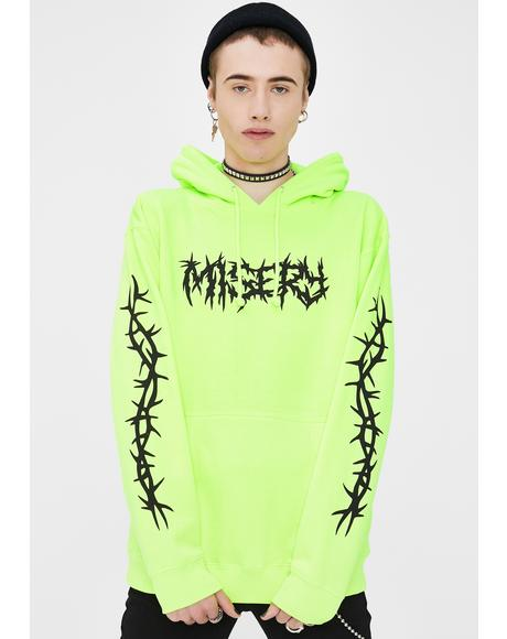Thorns Graphic Pullover Hoodie