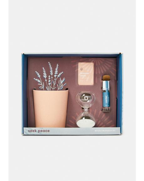 Seek Peace Mindful Meditation Kit