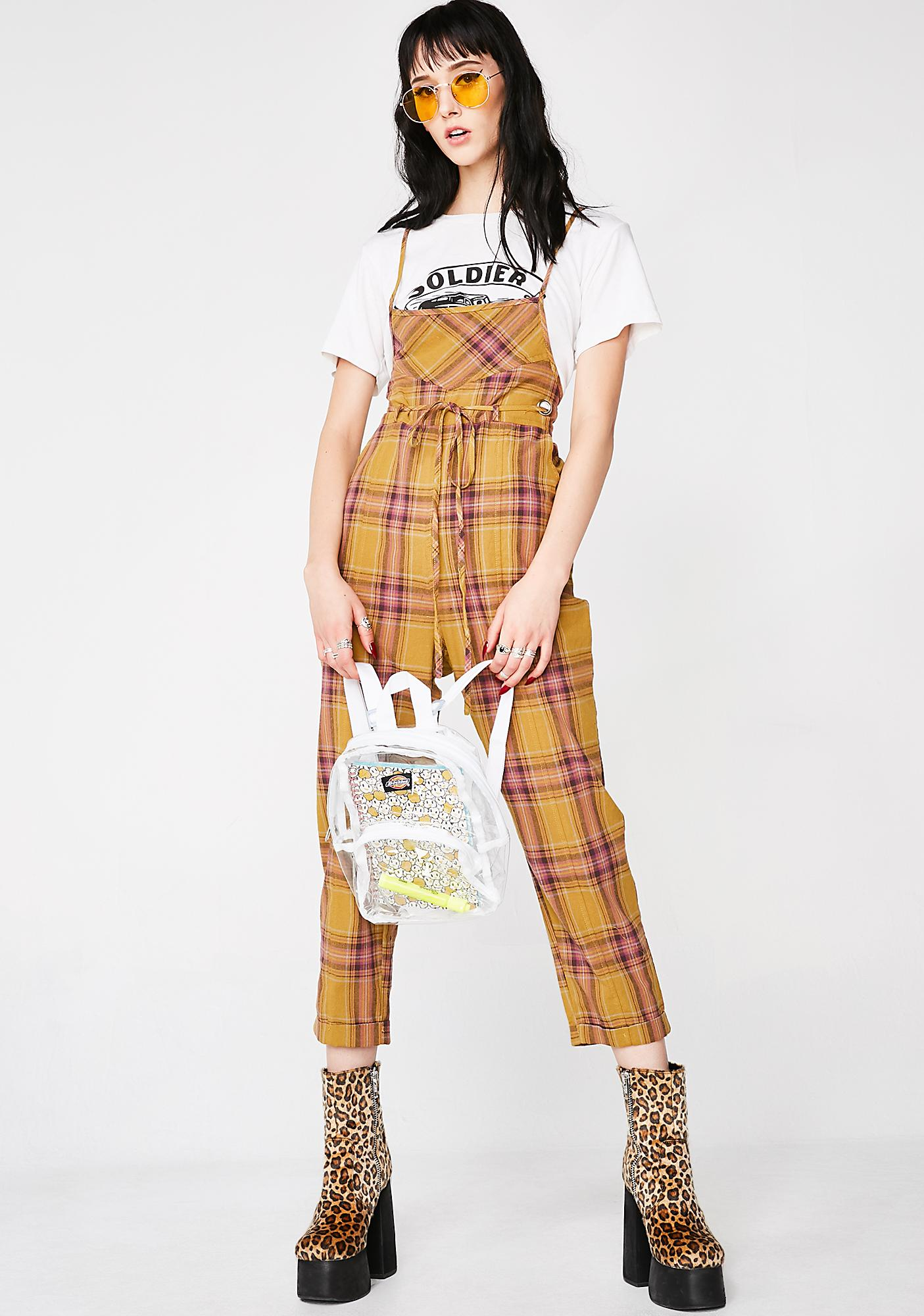 867747c0cf2df Playtime Plaid Overalls