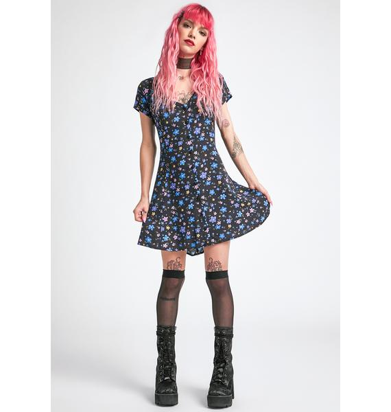 dELiA*s by Dolls Kill In Your Good Graces Mini Dress