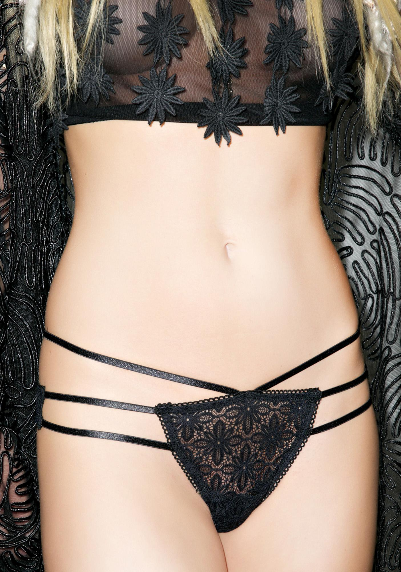 For Love & Lemons Wanted And Wild Bondage Panty