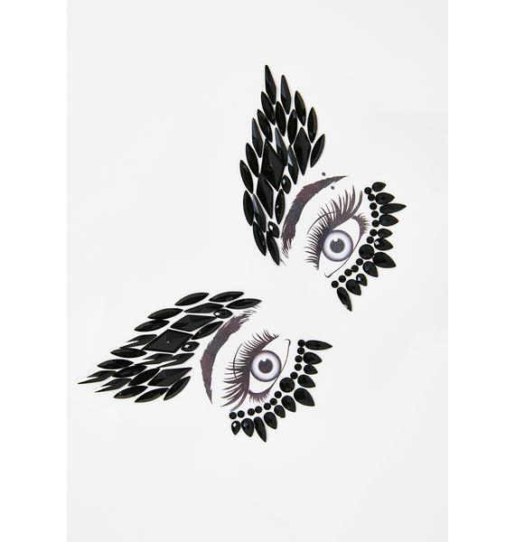 Neva Nude Night Hawk Face Gems
