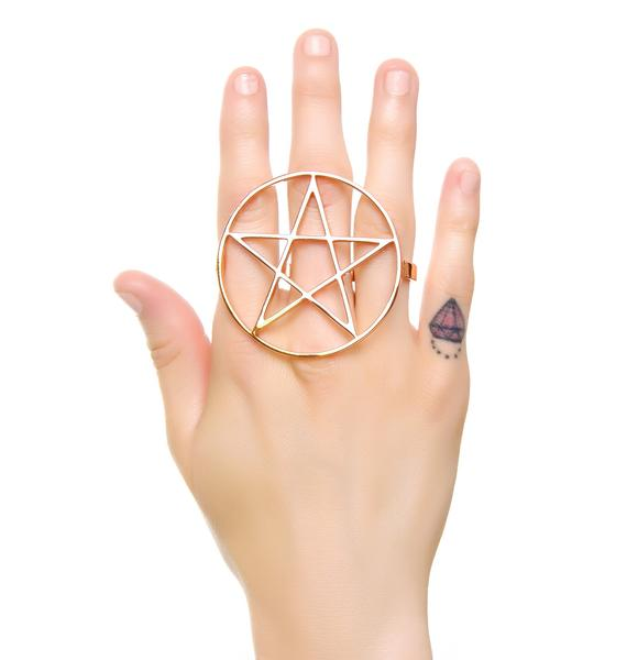 Magick Star Pentagram Ring