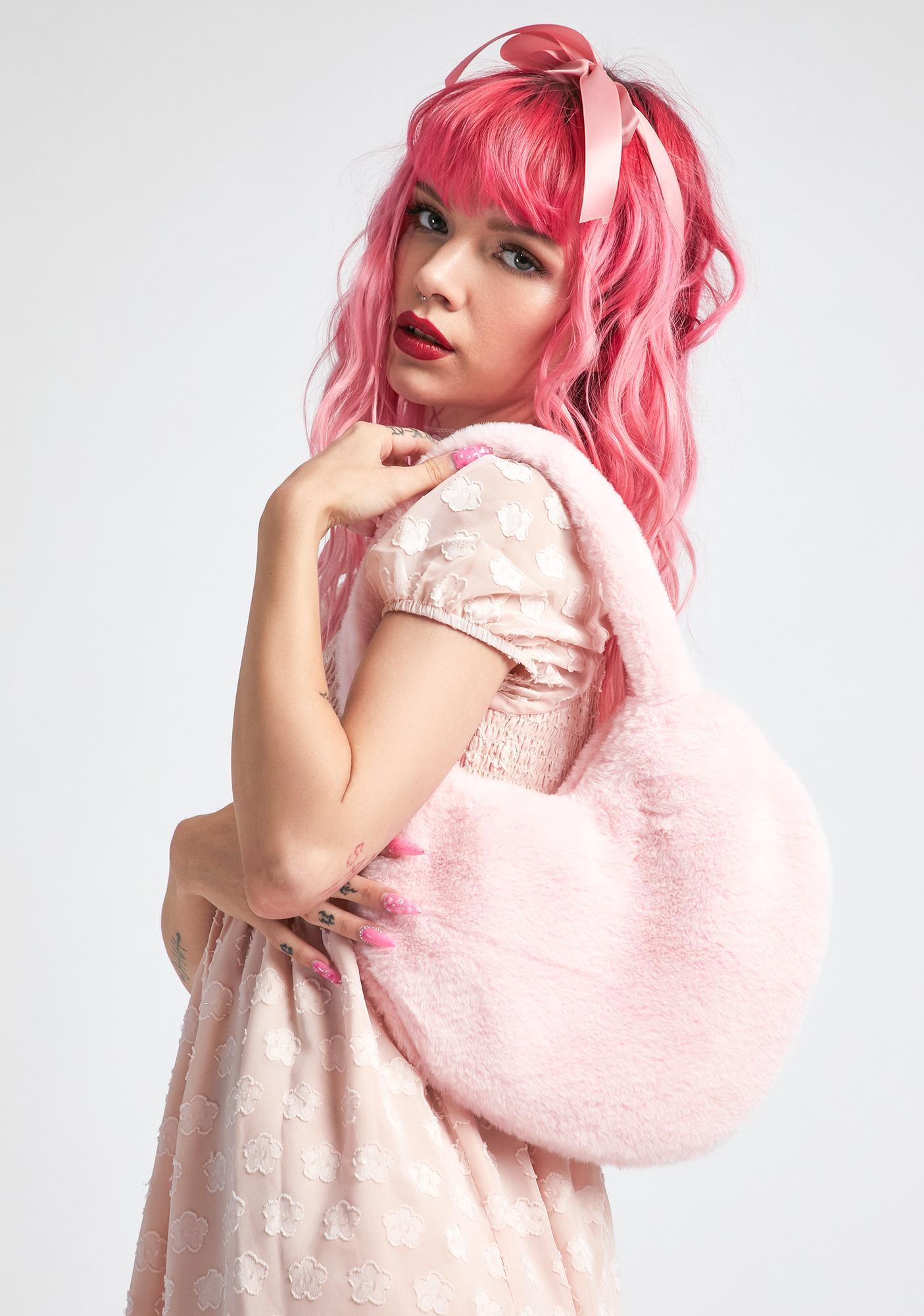 dELiA*s by Dolls Kill Big Softie Heart Bag