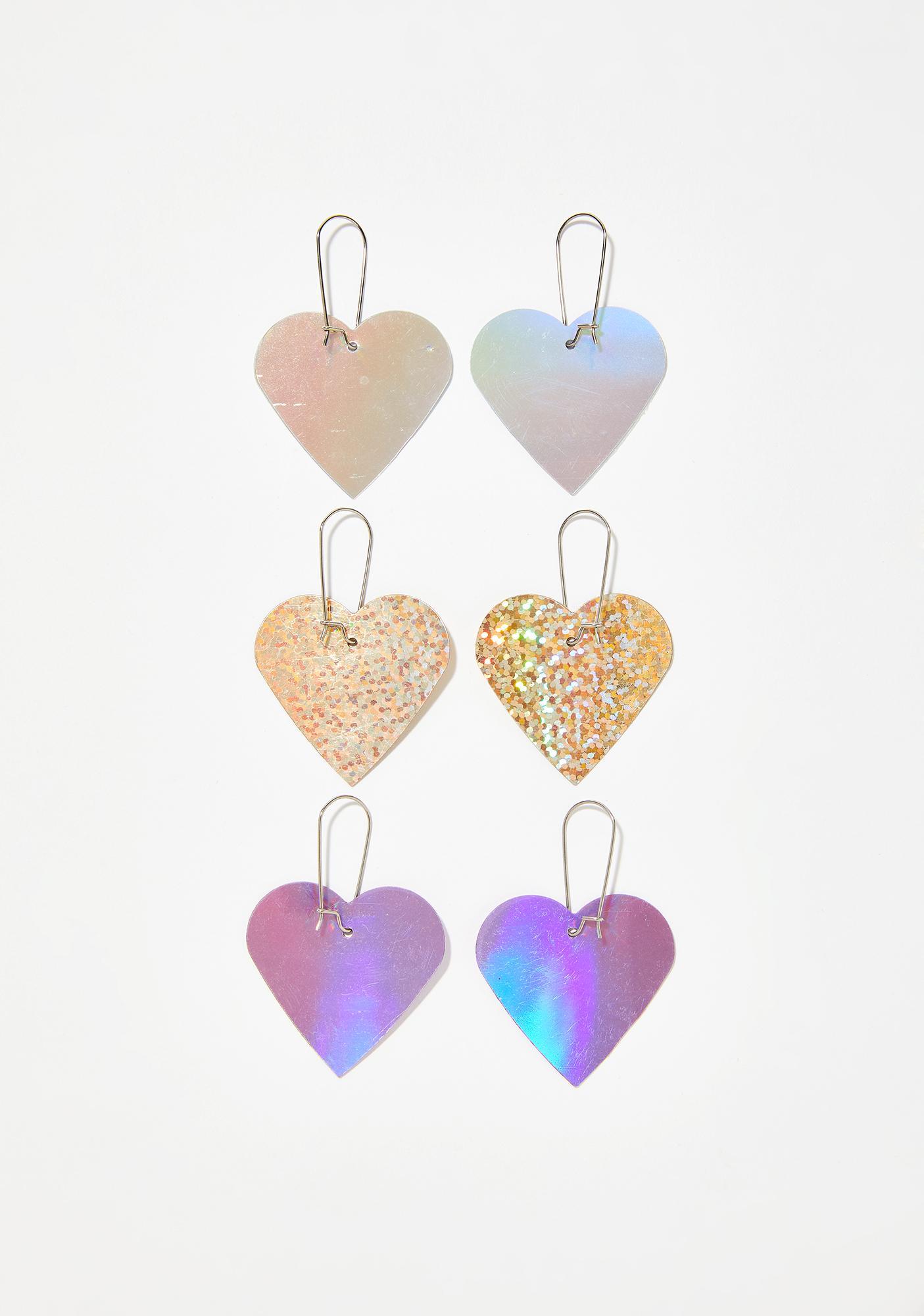Cosmic Romance Earring Set