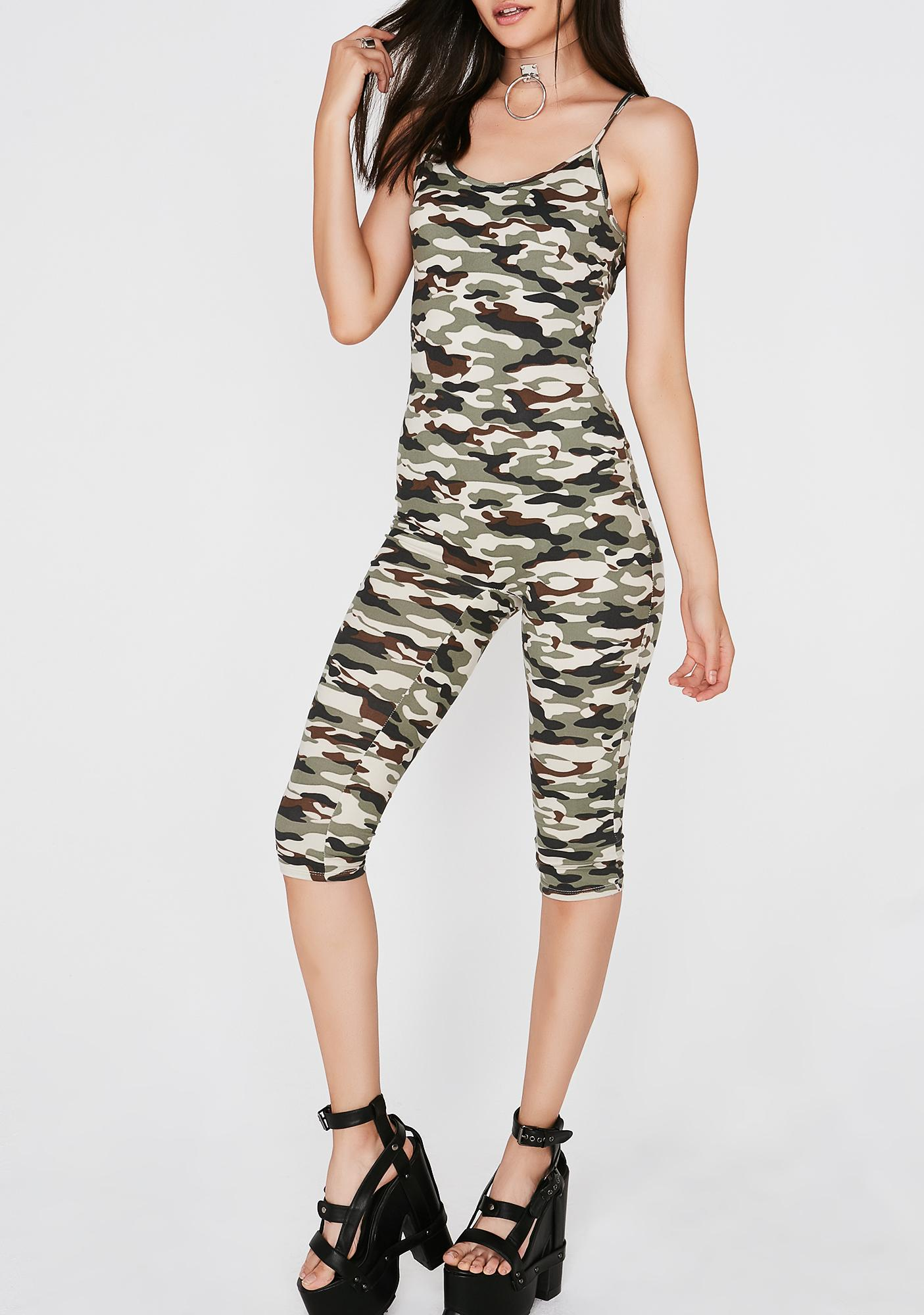 Ready To Aim Camo Catsuit
