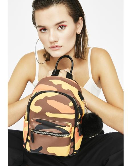 Team Impossible Camo Backpack