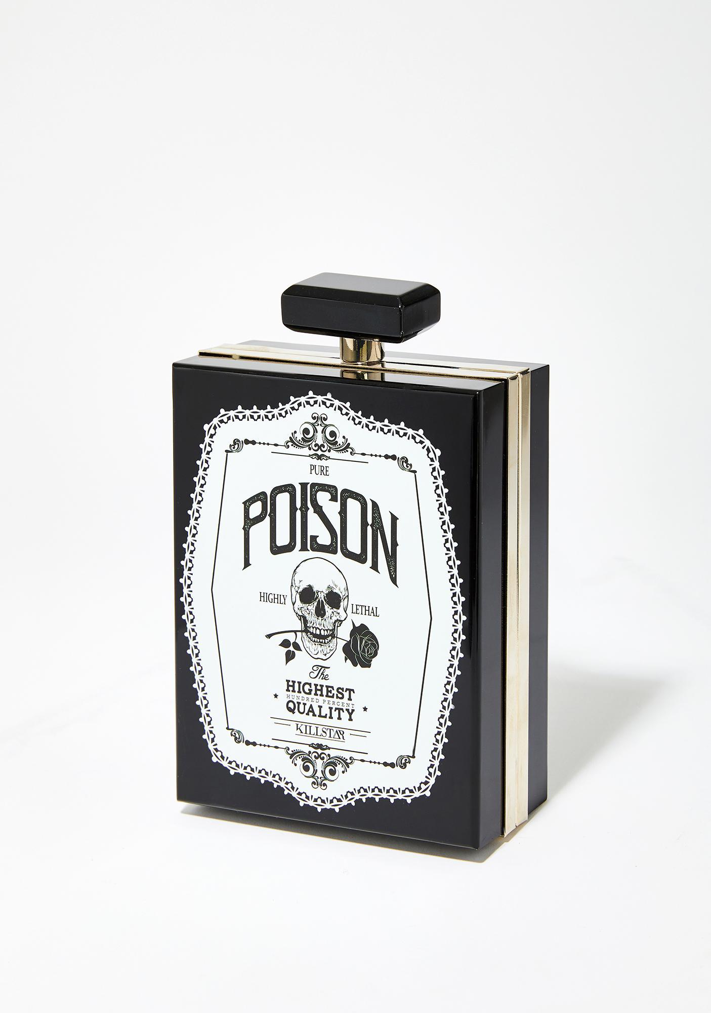 Killstar Pure Poison Clutch Bag