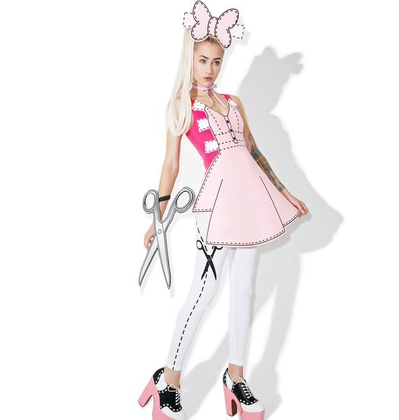 Pretty Paper Doll Costume