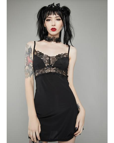 Dream No More Lace Slip Dress