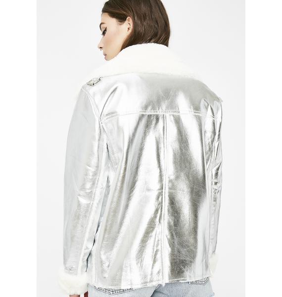 Titanium Skies Aviator Jacket