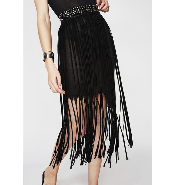 Star Power Fringe Belt